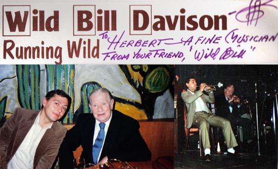 Herbert Christ und Bill Davison