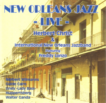 New Orleans Jazz Live – Herbert Christ and the International New Orleans Jazzband